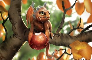 fruit_dragon_by_staplesart-d63l8r4