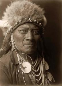 Indian-Warrior-Buffalo-Head-Dress