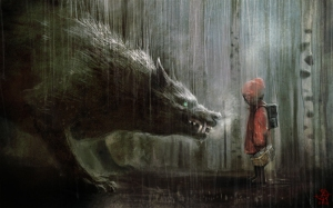 84900-red-riding-hood-picture-2d-fantasy-wolf-kid